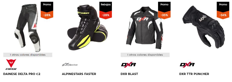 En Motoblouz podrás comprar las mejores prendas para motociclistas