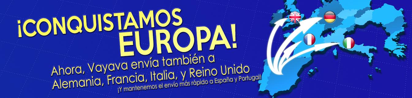 Vayava España y Europa