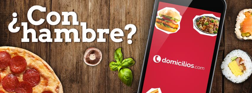 Pide comida en Internet a través de Domicilios.com