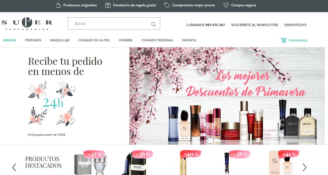 Marcas de Superperfumerias.com