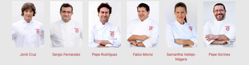 Escuela master chef elementos