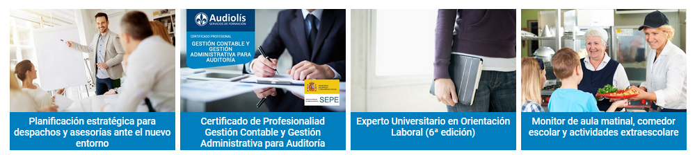 Audiolis cursos online