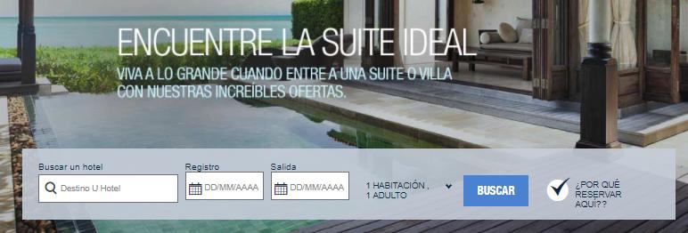 Starwood Hotels Ofertas