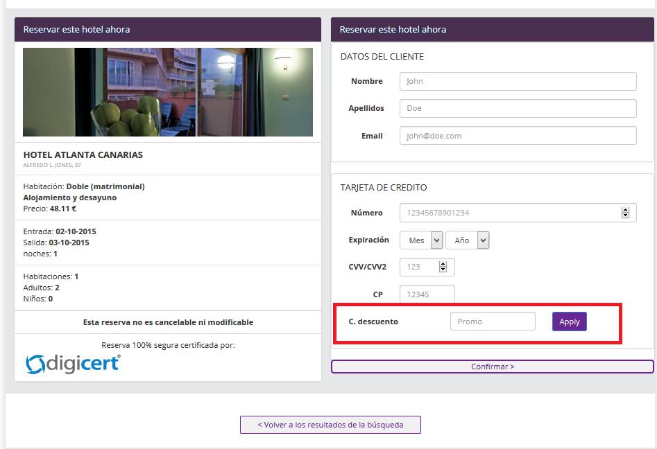 Descuento Código Descuento Hoteles.es