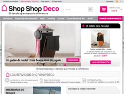 Cupón Descuento Shopshopdeco.es 2018