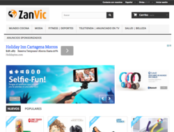 Código descuento Zanvic.com 2018