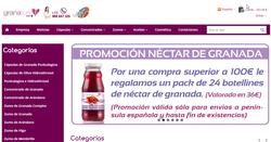 Cupón Promocional GranaTherapy.com 2018