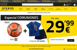 Códigos Promocionales de Oteros 2018