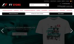 Códigos de Descuento Fórmula 1 Store 2017