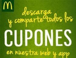 Cupon Descuento McDonalds 2018