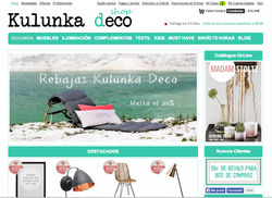 Código Promociónal Kulunka Deco Shop 2018