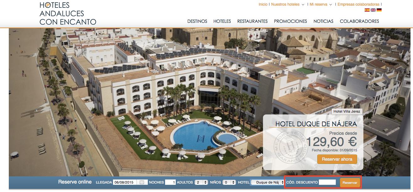 Descuento Código Descuento Hace Hoteles