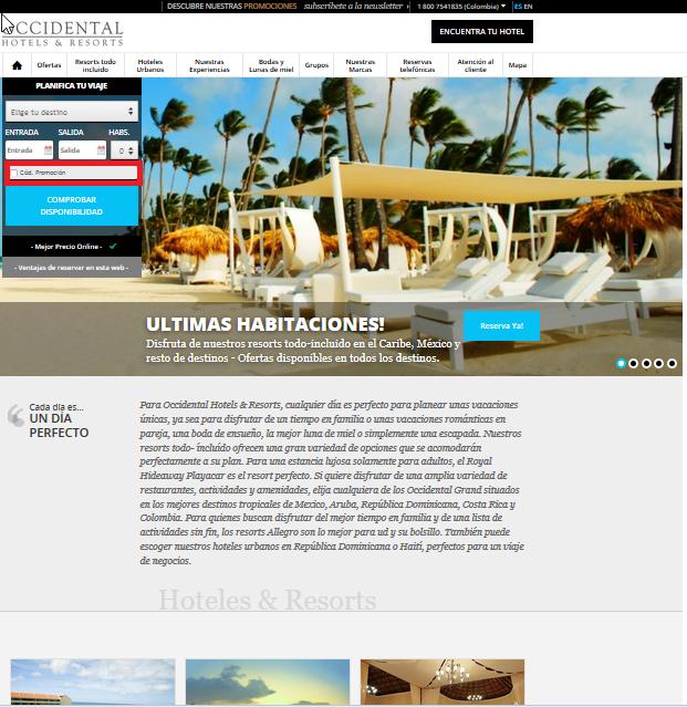 Descuento Código Promoción Occidental Hotels