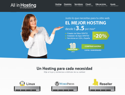Código Promocional All in Hosting 2019