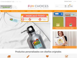 Vale Descuento Fun Choices Colombia 2019
