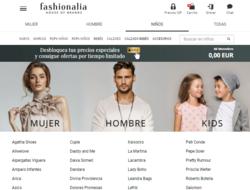 Cupón Descuento Fashionalia 2019