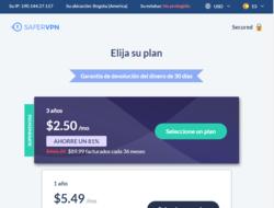 Cupón Descuento Safer VPN 2019
