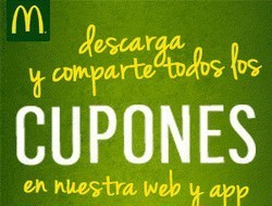 Cupon Descuento McDonalds 2019