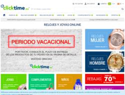 Vale Descuento Clicktime 2019
